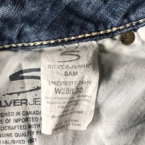 Silver Jeans Jeans - Silver Jeans Sam Fit